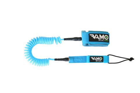 VAMO 10' Fully Coiled Calf and Cankle Leash - QuiverSports.com