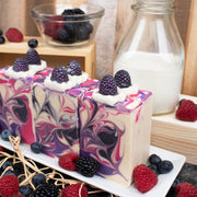 Berries and Cream Goat Milk Soap