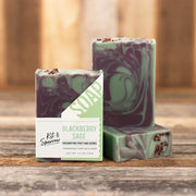 Blackberry Sage Handmade Goat Milk Soap