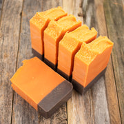 Candied Apricot Handmade Goat Milk Soap