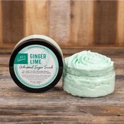 Ginger Lime Whipped Sugar Scrub