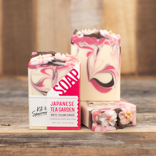 Japanese Tea Garden Handmade Goat Milk Soap