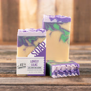 Lovely Lilac Handmade Goat Milk Soap