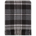 MacRae Hunting Grey Lambswool Blanket