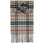 Thompson Camel Lambswool Scarf