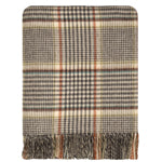 Clyde Check Lambswool Cape