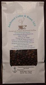Tropical Sunrise Breakfast Blend (12oz Bag)
