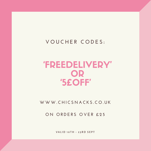 Free Delivery or Money off Vouchers