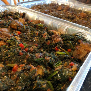 Vegetable soup (Efo-Riro)
