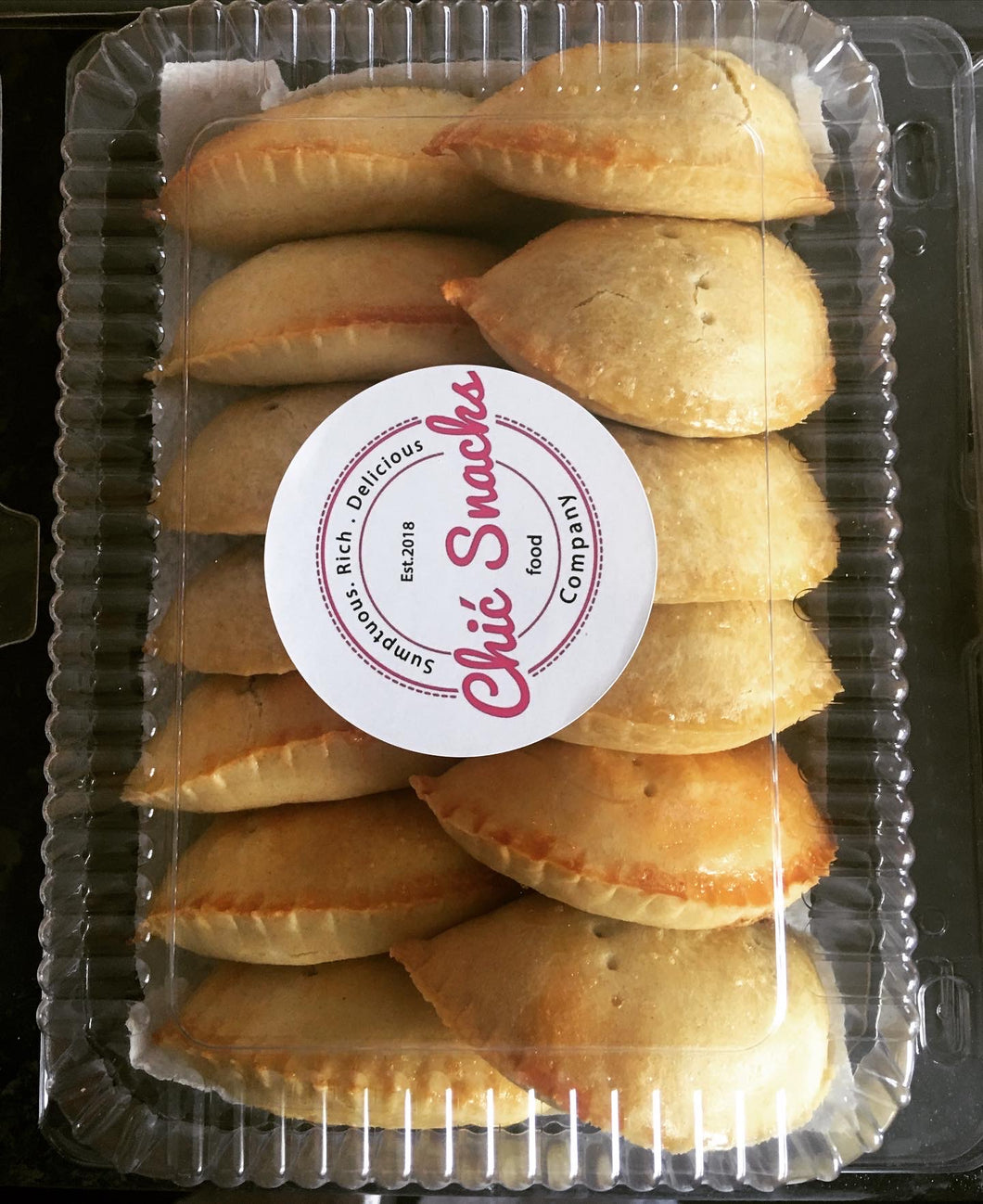 1x Small Pack of pastries