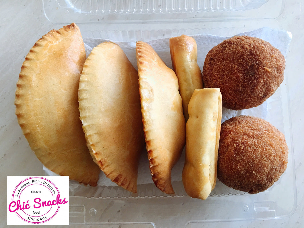 Mixed Pastries pack with Scotch eggs sausage rolls