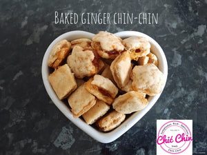 Baked Ginger Preserve Chinchin