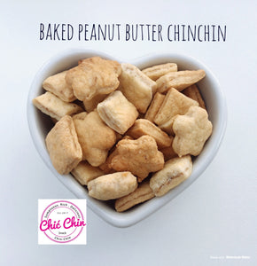Baked Peanut Butter Chinchin