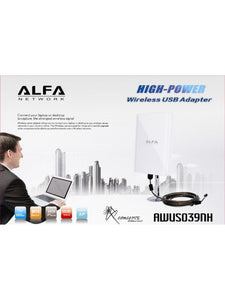 ALFA AWUS039NH Adaptateur 98dbi High gain