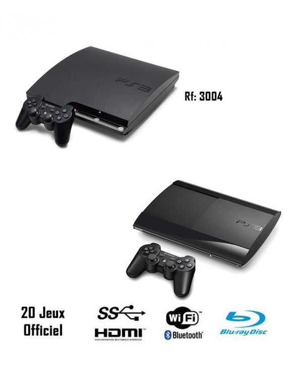 Installe 20 Jeux official Ps3