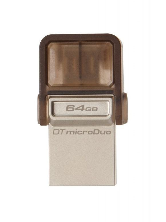 Kingston DT-Micro Duo Clé USB 2.0 64 Go Noir