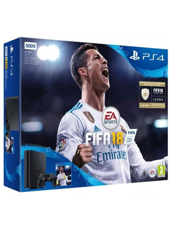 PS4 SLIM (500 GO) + FIFA 18