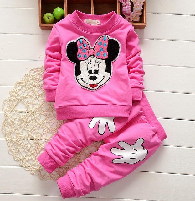 Conjunto Disney - Minnie 1 a 4 anos