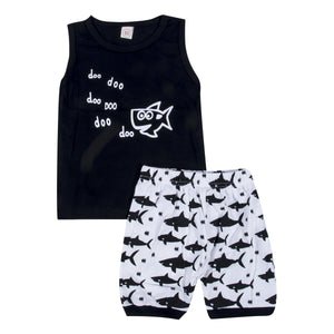 Baby Shark Do Do...outfit - (SIZES 3-6M & 12-18M)