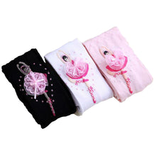 Load image into Gallery viewer, Girls ballerina design stockings - 3 COLOURS