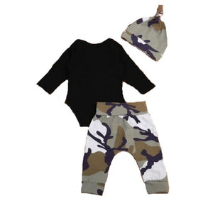 Daddy Is My Hero 3pc outfit