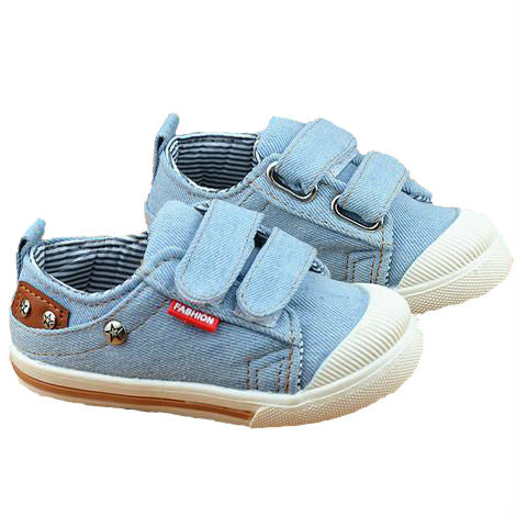 Denim canvas sneakers (1-3YRS)