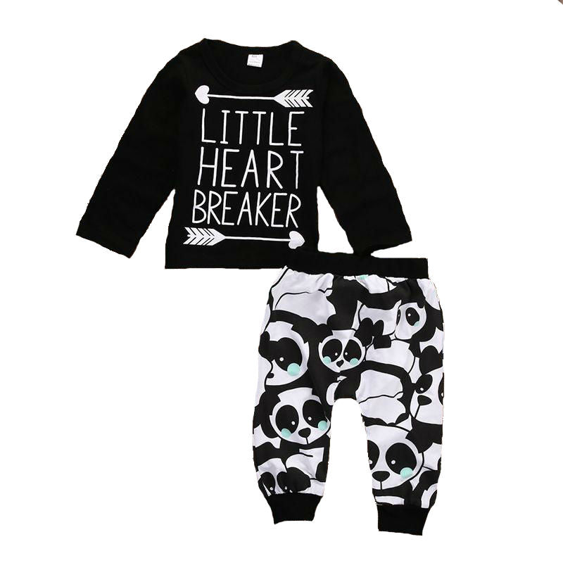 Little Heart Breaker panda outfit