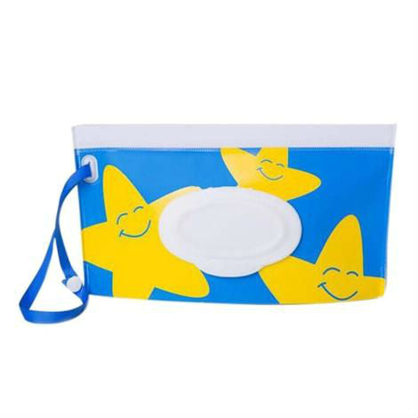 Reusable baby wipes travel case - STAR