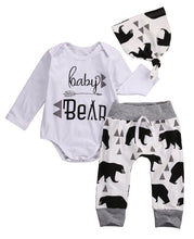 Load image into Gallery viewer, Baby Bear 3pc outfit
