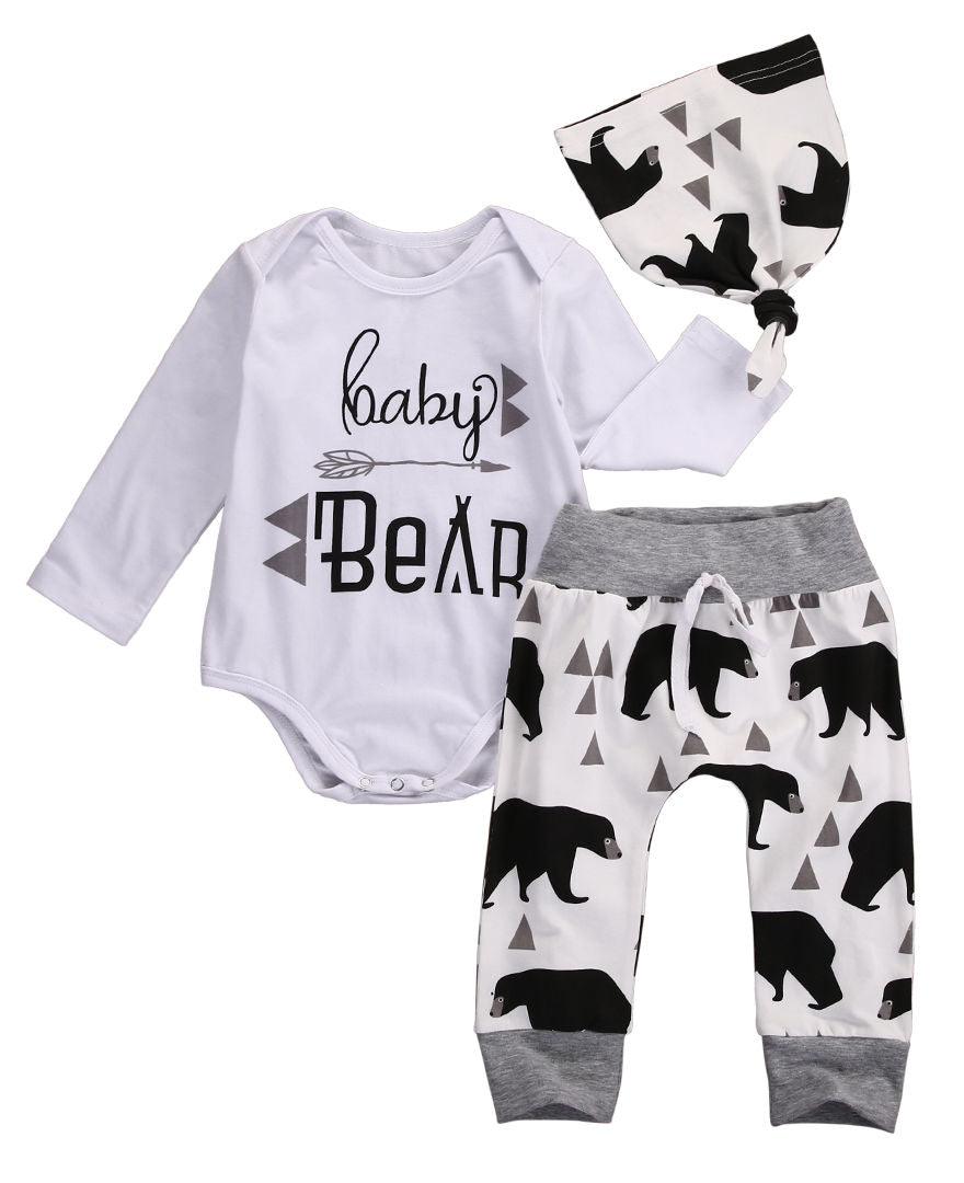 Baby Bear 3pc outfit