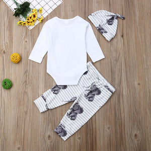 Little Peanut 3pc outfit
