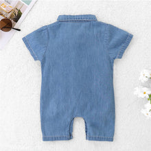 Load image into Gallery viewer, Melvyn denim romper (12M-5YR)