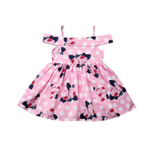 Load image into Gallery viewer, Blair off the shoulder dress (12M-5YR)