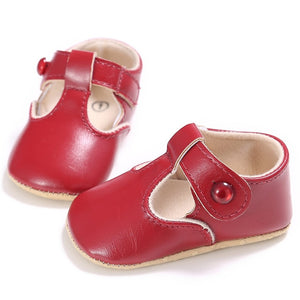 Trixy baby t-bar flats - 5 COLOURS (0-18M)