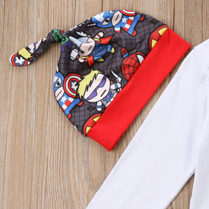 Superhero In Training 3pc outfit