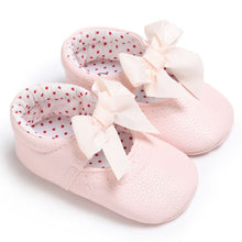 Load image into Gallery viewer, Zahra bow flats - 3 COLOURS (0-18M)