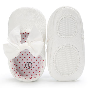 Zahra bow flats - 3 COLOURS (0-18M)