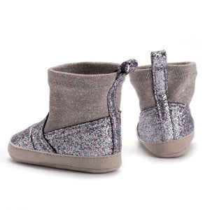 Baby girls bling boots - 1 COLOUR (0-18M)