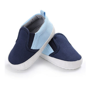 Two-tone slip on sneakers - 1 COLOUR (0-18M)