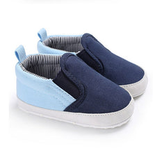 Load image into Gallery viewer, Two-tone slip on sneakers - 1 COLOUR (0-18M)