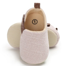 Load image into Gallery viewer, Unisex soft sole shoes - 3 COLOURS (0-18M)