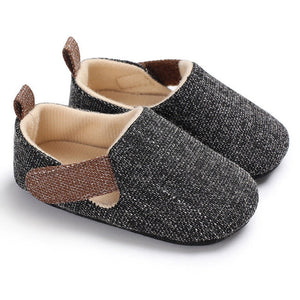 Unisex soft sole shoes - 3 COLOURS (0-18M)