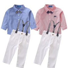 Load image into Gallery viewer, James suspender outfit - 2 COLOURS (2YR-6YR)