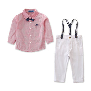 James suspender outfit - 2 COLOURS (2YR-6YR)