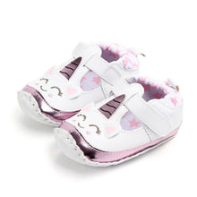 Load image into Gallery viewer, Unicorn soft sole shoes - 1 COLOUR (0-18M)