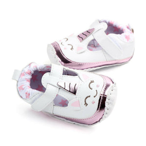 Unicorn soft sole shoes - 1 COLOUR (0-18M)