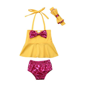 Helia 3pc swim suit (12M-5YR)