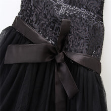 Load image into Gallery viewer, Elsa black party dress (12M-6YR)