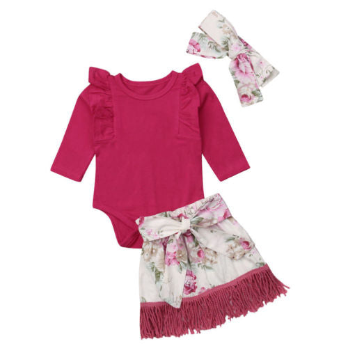 Rosabel 3pc party outfit (0M-18M)