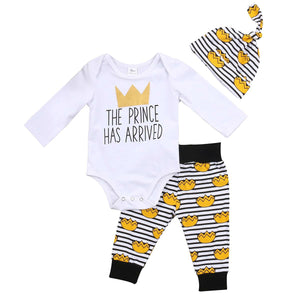 The Prince Has Arrived 3pc outfit